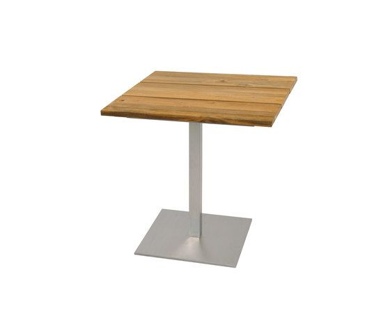 Oko dining table 75x75 cm (Base B - diagonal) by Mamagreen by Mamagreen