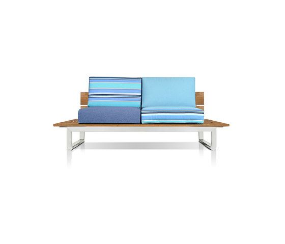 Oko Lounge 2-seater (no bolster) by Mamagreen by Mamagreen