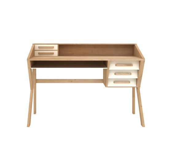 Oak Marius Origami Desk by Ethnicraft