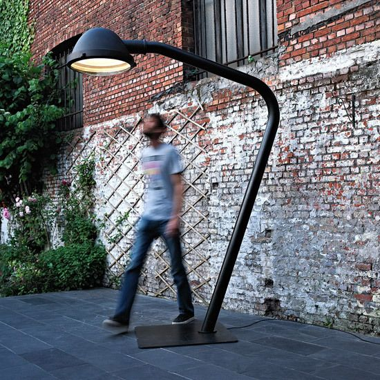 Outsider - floor lamp by Jacco Maris by Jacco Maris