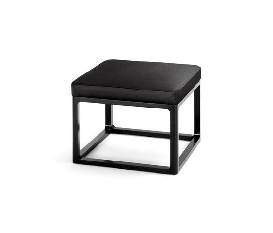 Padded table by Wittmann by Wittmann