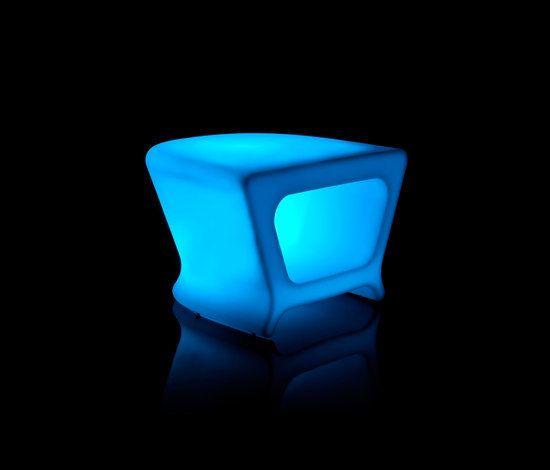 Pal table LED by Vondom by Vondom