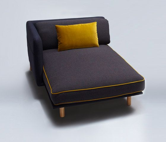 Palafitte Chaise Longue by Comforty by Comforty