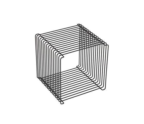 Panton Wire | black by Montana Møbler by Montana Møbler