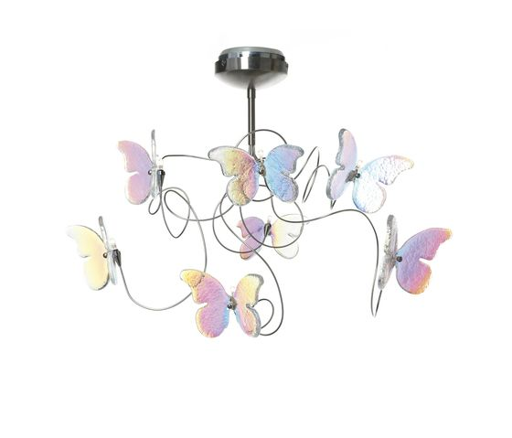 Papillon ceiling light 7-iridescent by HARCO LOOR by HARCO LOOR