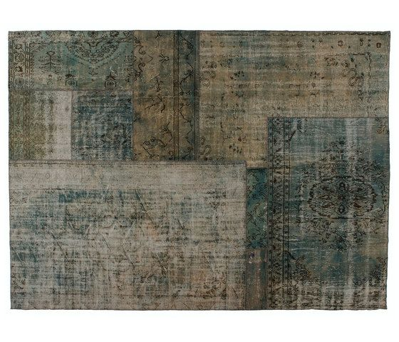 Patchwork Decolorized aqua by GOLRAN 1898 by GOLRAN 1898