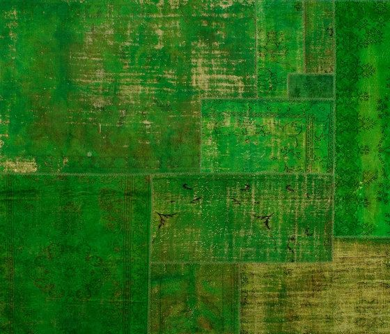 Patchwork Decolorized green by GOLRAN 1898 by GOLRAN 1898