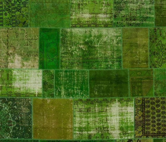 Patchwork green by GOLRAN 1898 by GOLRAN 1898
