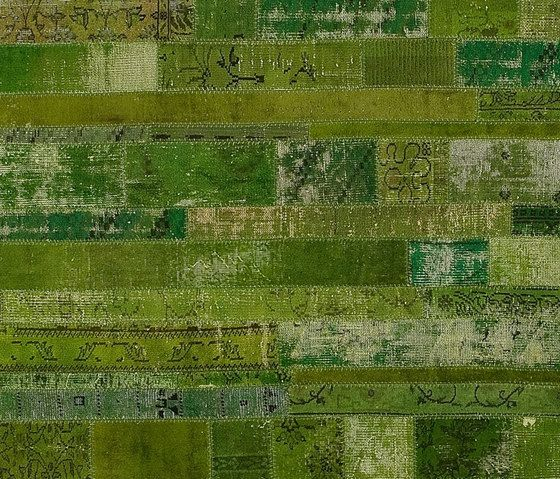 Patchwork Restyled green by GOLRAN 1898 by GOLRAN 1898