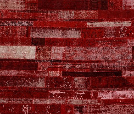 Patchwork Restyled red by GOLRAN 1898 by GOLRAN 1898