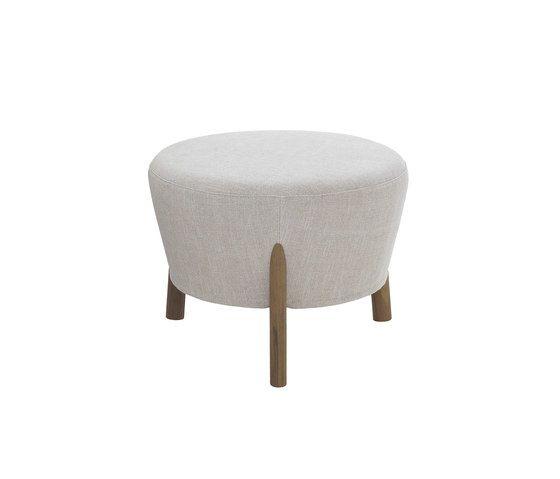 Pilotis armchair | pouf by De Padova by De Padova