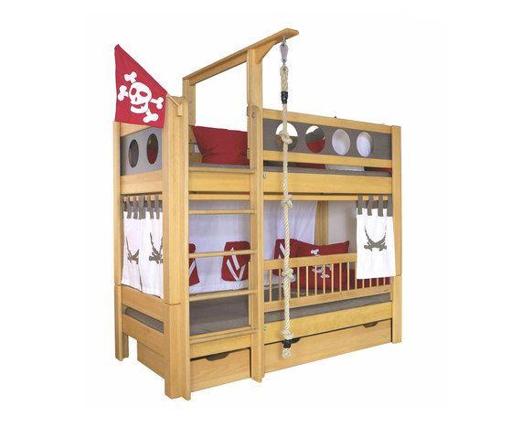 Pirate Bunk bed with drawers DBA-202.8 by De Breuyn by De Breuyn