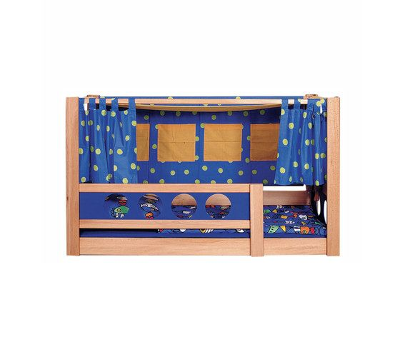 Pirate Canopy Bed DBA-202.4 by De Breuyn by De Breuyn