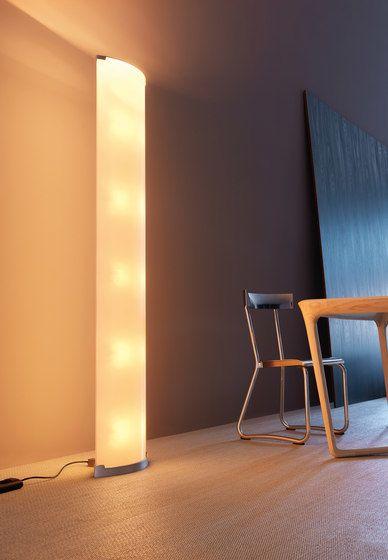 Pirellone floor lamp by FontanaArte by FontanaArte