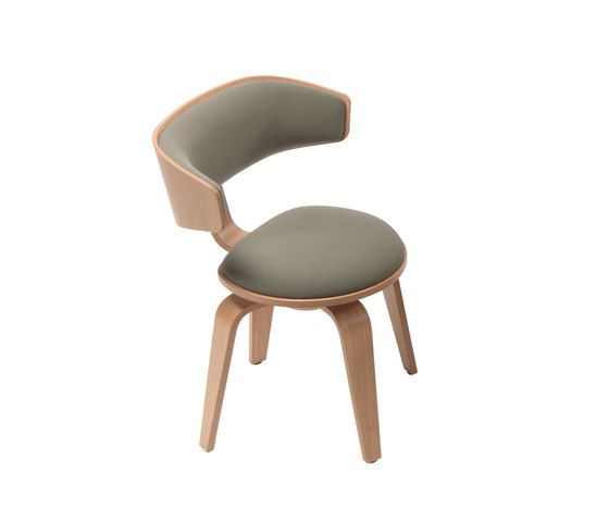Pivot Armchair with fixed base by Giulio Marelli by Giulio Marelli