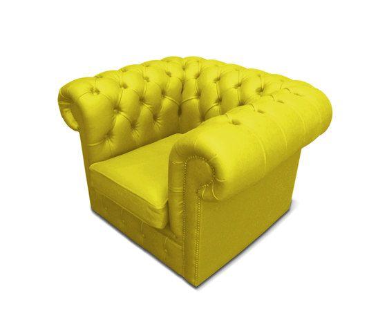 Plastic Fantastic club chair banana by JSPR by JSPR