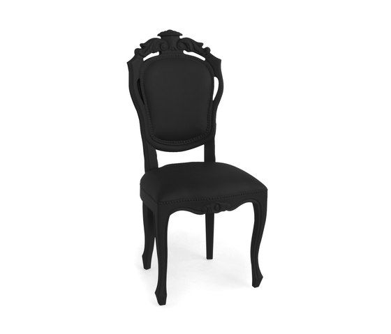 Plastic Fantastic dining chair black by JSPR by JSPR