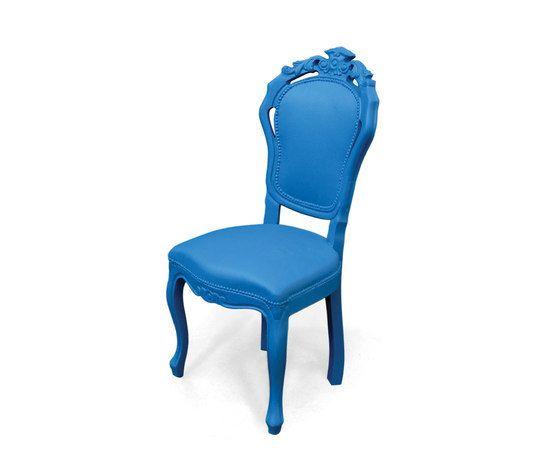Plastic Fantastic dining chair blue by JSPR by JSPR