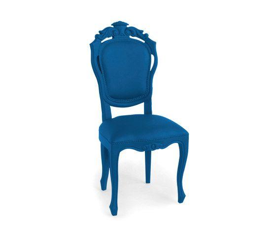 Plastic Fantastic dining chair evening blue by JSPR by JSPR