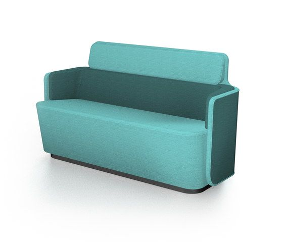 PodSofa with low backrest by Martela Oyj by Martela Oyj
