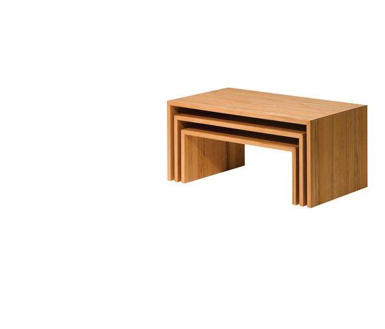 ponte set of three coffee table by TEAM 7 by TEAM 7
