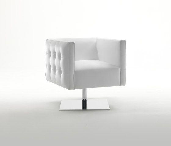 Prestige Swivel Armchair by Giulio Marelli by Giulio Marelli
