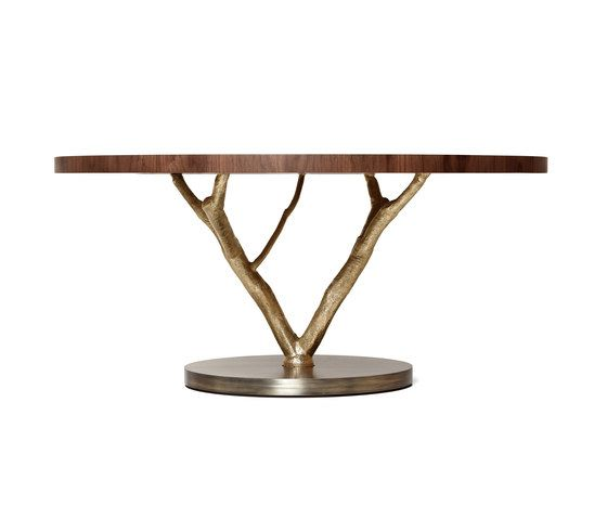 Primitive | Round Dining Table by GINGER&JAGGER by GINGER&JAGGER