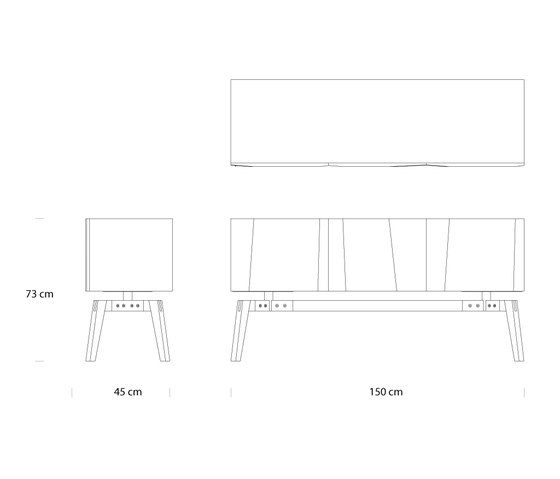 Private Space Credenza by ellenbergerdesign by ellenbergerdesign