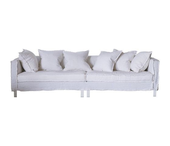 Quadro Loose Sofa by Designers Guild by Designers Guild