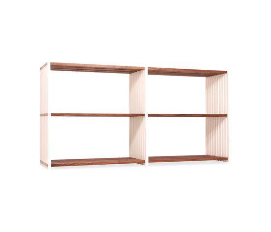 Rebar Foldable Shelving System Sideboard 2.2 by Joval by Joval