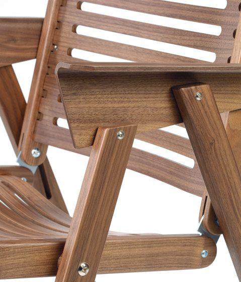 Rex Chair walnut by Rex Kralj by Rex Kralj