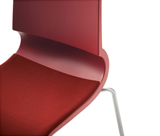 Ricciolina 4 legs with seat cushion by Maxdesign by Maxdesign