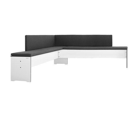Riva corner bench by Conmoto by Conmoto