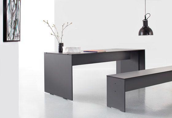Riva folding table by Conmoto by Conmoto