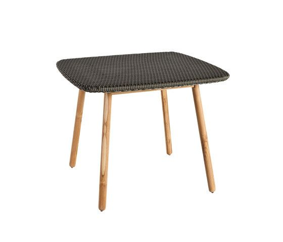 Round Dining table weaving top by Point by Point