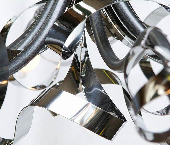 Ruban Plié Ceiling lamp by Jacco Maris by Jacco Maris