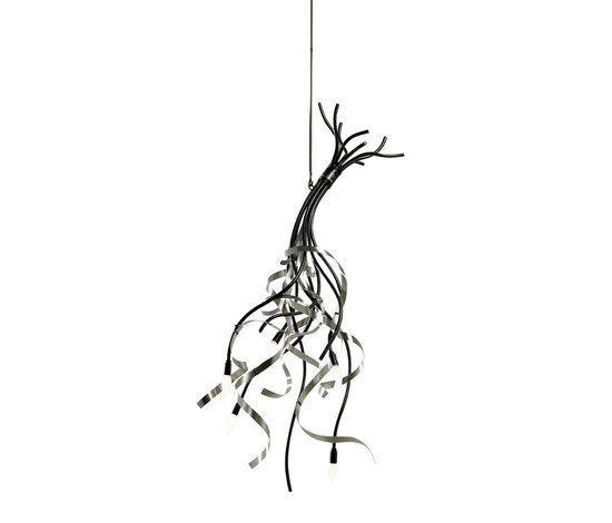 Ruban Plié Suspension lamp by Jacco Maris by Jacco Maris