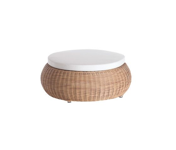 Ruedo foot stool 80 by Point by Point