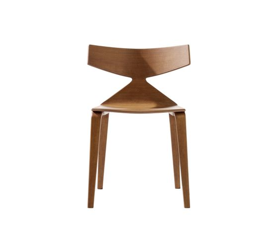 Saya Sled Base Dining Chair by Arper by Arper