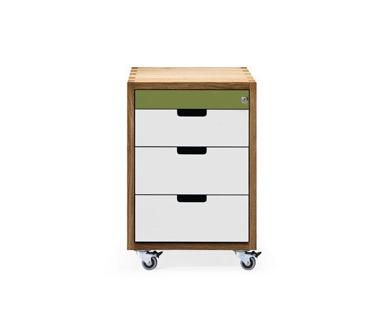 SC 30 Wheeled drawer | Wood | Wood-HPL by Janua / Christian Seisenberger by Janua / Christian Seisenberger