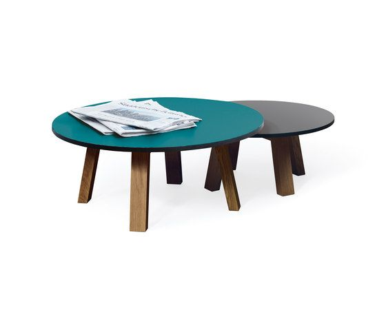 SC 51 Coffee table | HPL-Wood by Janua / Christian Seisenberger by Janua / Christian Seisenberger
