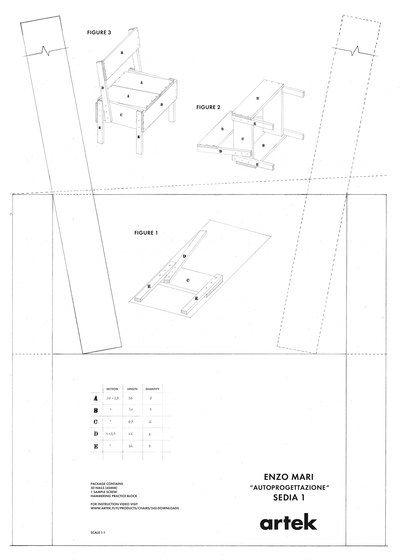 Sedia 1 Chair by Artek by Artek
