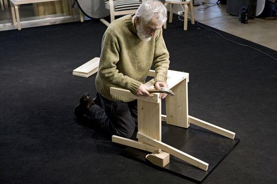 sedia 1 chair by artek by enzo mari for artek