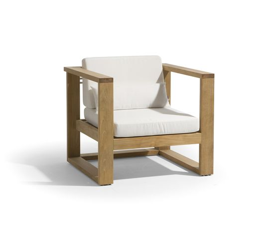 Siena lounge 1 seat by Manutti by Manutti