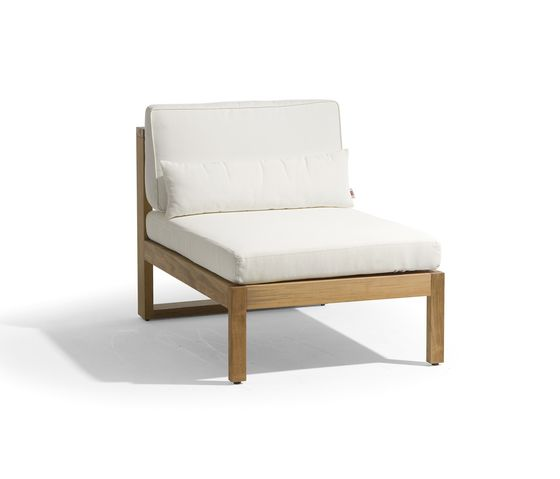 Siena lounge small middle seat by Manutti by Manutti