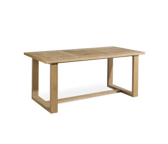 Siena rectangular dining table by Manutti by Manutti