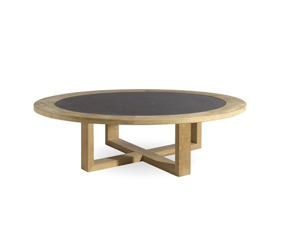 Siena round coffee table by Manutti by Manutti