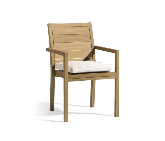 Siena square chair by Manutti by Manutti