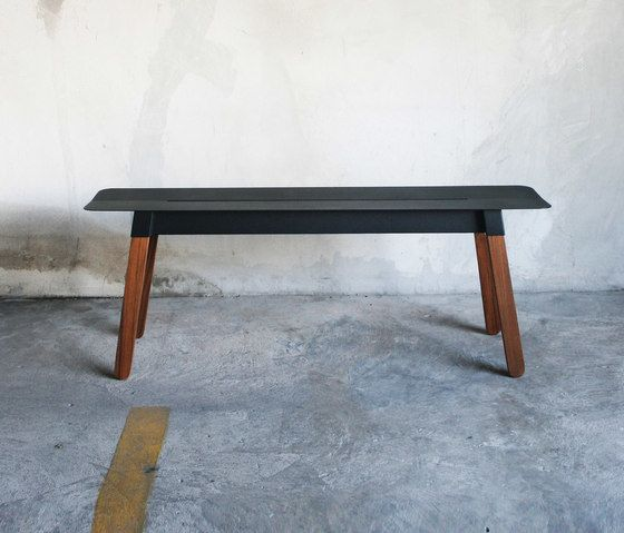 SIM STEEL Bench 120 by TAKEHOMEDESIGN by TAKEHOMEDESIGN