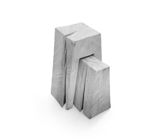 SK 02 Cube Side Table and Stool by Janua / Christian Seisenberger by Janua / Christian Seisenberger
